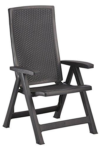 BEST Gartensessel »2 Stück« 2 Stühle, grau kaufen