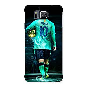 UNICOVERS Player 10s Back Case Cover for Galaxy Alpha