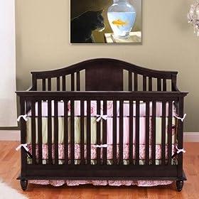 Addison 4 In 1 Convertible Crib In Espresso: Home U0026 Kitchen