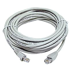 BEcom Length 20 Yard Approximately 18.28 Meters. Ethernet Patch Cord CAT5 RJ45 Lan Straight Cable