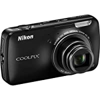 Nikon COOLPIX S800c 16 MP Digital Camera with 10x Optical Zoom NIKKOR ED Glass Lens and 3.5-inch OLED touch screen from Nikon