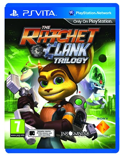 Ratchet and Clank Trilogy Sony Playstation PS Vita Game UK