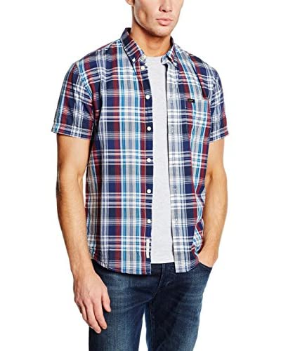 Lee Camisa Hombre Button Down Ss Navy