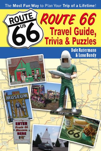 Route 66: Travel Guide, Trivia and Puzzles (Trivia Quiz Question Books)