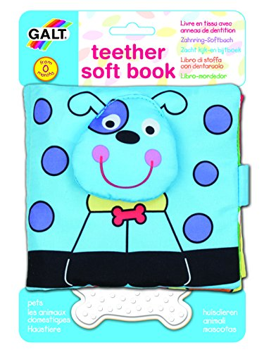 Galt Toys Inc First Years Pets Teether Soft Book