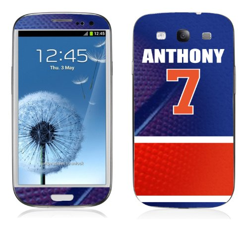 NBA Jersey Carmelo Anthony Skin Decal Samsung Galaxy S3 get 2 FREE tattoo stickers