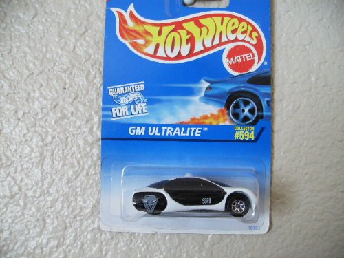 Gm Ultralite 1997 Hot Wheels #594 W/7 Spokes and Tampos