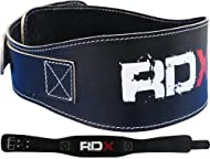 Buy Authentic RDX Leather Weight Lifting 5.5' Pro Belt Back Support Strap Gym Training Fitness Small Medium Large XLarge Comparison-image