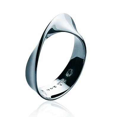 Georg Jensen Silver Mobius Ring