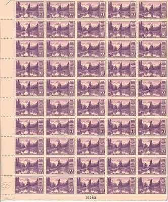 Mount Ranier Sheet of 50 x 3 Cent US Postage Stamps NEW Scot 742