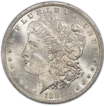 1885-O Morgan Silver Dollar - Brilliant Uncirculated