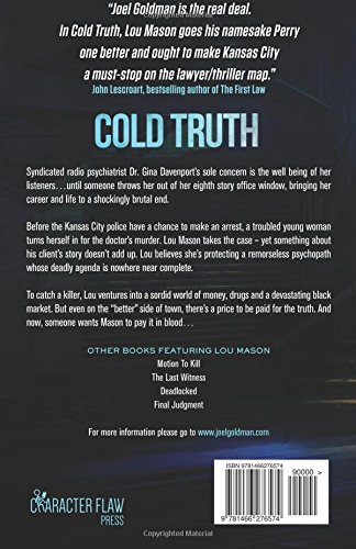 Cold Truth: Lou Mason Thriller Series: Volume 3