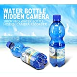 Portable Real Water Bottle Hidden Spy Camera,Nanny Camera Recorder 3 Hours FHD Video Recording Camcorder 16GB DVR Plastic Drinking Water Bottle Security Camera Support Motion Detection