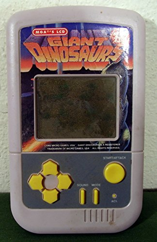 Giant Dinosaurs by Micro Games of America MGA's LCD