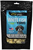 Etta Says Freeze Dried White Fish Treat 100-Percent All Natural From American Waters 1.2-Ounce, 34-Gram