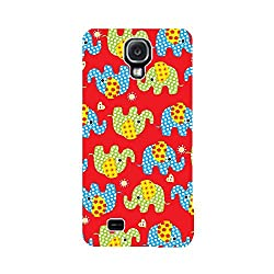 Skintice Designer Back Cover with designer 3D sublimation printing for Samsung Galaxy S4
