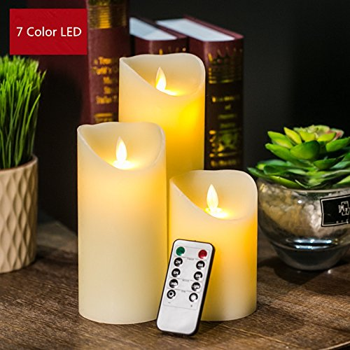 smkf-3pcs-large-wick-candles-dancing-led-flameless-flicker-with-remote-controltimerivory-via-dhl-shi