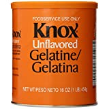 Knox Original Gelatin, Unflavored, 16-Ounces Cans  (Pack of 2)