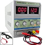 60V 5A 5AMP Lab Digital DC Power Supply Precision Variable Adjustable 110V/220V