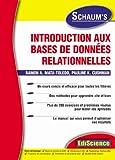 echange, troc Ramon A. Mata-Toledo, Pauline K. Cushman - Introduction aux bases de données relationnelles