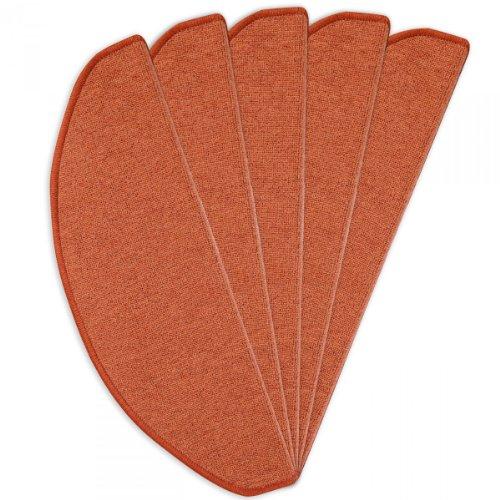 Havatex: Stufenmatte Toulouse terra 24 cm x 65 cm – 15 Stück / Geprüfte Qualität / Flormaterial: 100 % Polypropylen