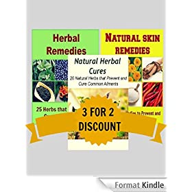 Natural Remedies Package: Herbal Remedies, Natural Skin Remedies, Natural Herbal Cures: (Herbs, natural remedies, coconut oil, essential oil, smoothies, herbal remedies) (English Edition)