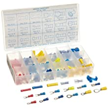 Precision Brand 175 Piece Electrical Terminal Assortment