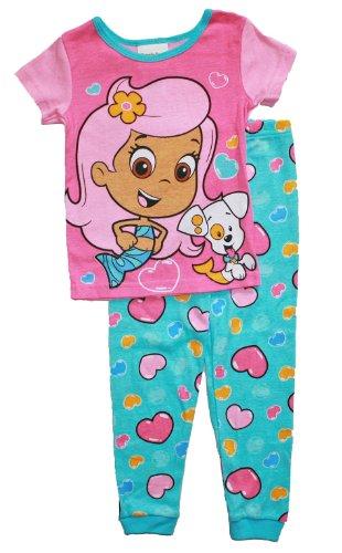 Bubble Guppies Toddler Girls Cotton Pajama Set (5T) front-1034686