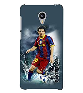 PrintVisa Sports Football 3D Hard Polycarbonate Designer Back Case Cover for Meizu M2