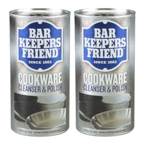 Bar Keepers Friend Cookware Cleanser, 12-Ounce - Set Of 2