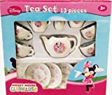 Disney Mickey Mouse Clubhouse: Minnie Mouse 13 Piece Tea Set