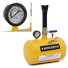 ARKSEN© Tire Bead Seater Tool, 5-Gallon Capacity | 145 PSI Max Pressure, Yellow