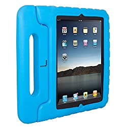 Urban Factory Kids Shell for iPad 2 to iPad with Retina Display, Blue (UKS01UF)