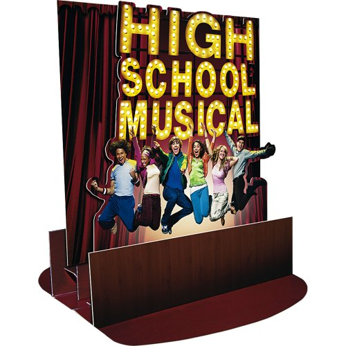 High School Musical 12 5/8in Centerpiece