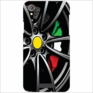 Lava Iris X1 Atom Back Cover - Silicon Wheel Designer Cases