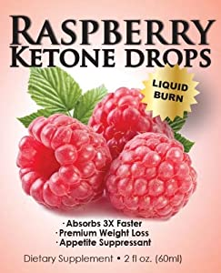 Raspberry Ketone Ultra Drops | Superior Liquid Weight Loss Drops | Absorbs Three (3) Times Faster | 60 Servings Per Bottle | Full Thirty (30) Day Supply by Bio-Smart