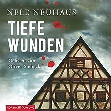 Tiefe Wunden (Bodenstein & Kirchhoff 3) Hörbuch von Nele Neuhaus Gesprochen von: Oliver Siebeck