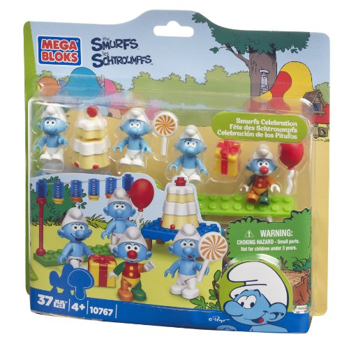 Mega Bloks Smurfs Celebration - 1