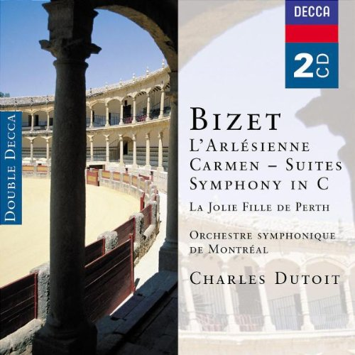 L'arlesienne & Carmen Ste Sym in C etc  -  Bizet - CD