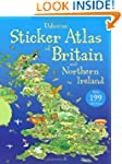 Usborne Sticker Atlas of Britain and...