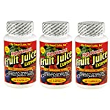 Fruit Juice Extreem TM  (3 Bottles) HIGH POTENCY Amazon ACAI, Blueberry, Goji Berry, Mangosteen, Hawaiin Noni, Black Cherry, Resveratrol, and more, antixidants, fruit juice extreme ~ Fruit Juice Extreem