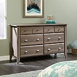 Sauder Shoal Creek 6 Drawer Dresser in Diamond Ash