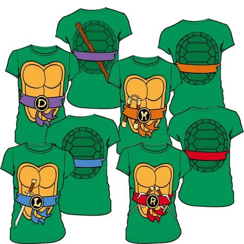 Teenage Mutant Ninja Turtles Juniors Costume Tee