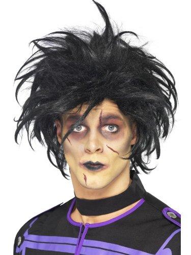 Smiffy'S Psycho Wig, Black, One Size