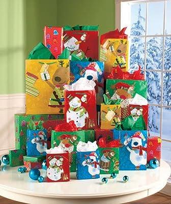 Whimsical Holiday Gift Bag 32-pc. SET