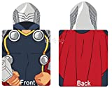 Marvel Avengers Thor Poncho Hooded Towel