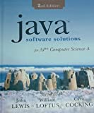 img - for Java Software Solutions: For AP Computer Science A book / textbook / text book