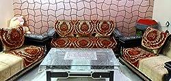 stylus mala_003 velvet based 5 seater, 6 Piece Sofa Cover