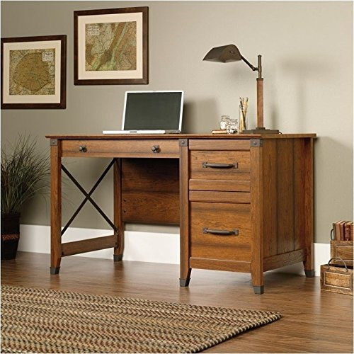 sauder-carson-forge-desk-washington-cherry-finish