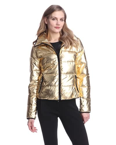 Clique Couture Women's Short Down Puffer Jacket  [Gold]